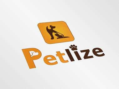 Petlize Logo and App icon