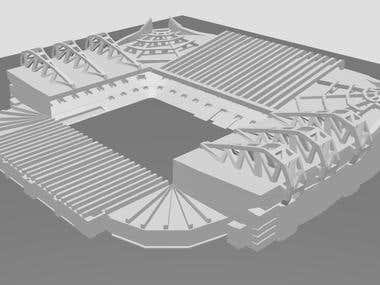 3DPrints: old trafford