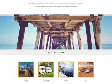 Website design for campersway