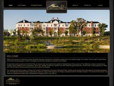 Abbeylane Homes Website