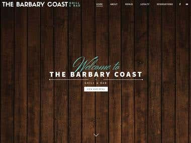 Barbary Coast Website
