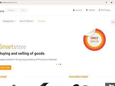 Smart Store Online Shopping