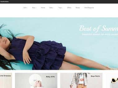 eCommerce Website - 33rd Republic