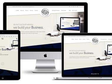 "Website for Website Designing company ""INCODEWARE"""