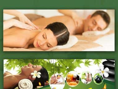 Exciting Spas Facebook Cover Design