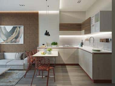 Design an apartment project.