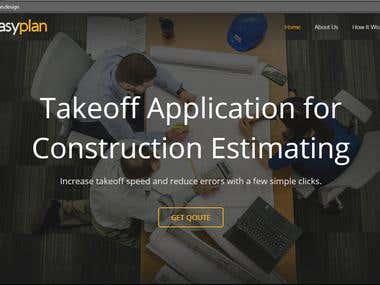 Easyplan | Contstruction Estimation Website