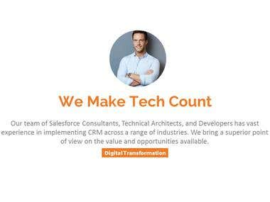 Sample of a Digital Marketing PowerPoint