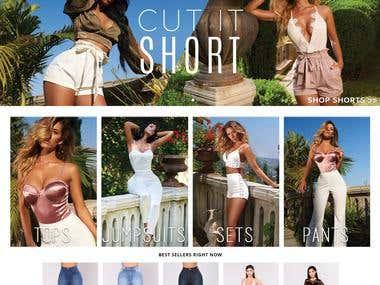 Shopify Fashion Store