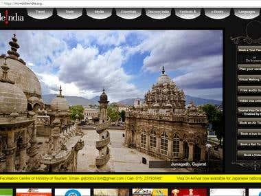 Travel & Tourism / Website design
