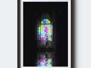 Tourist | Digital Painting | Digital Print