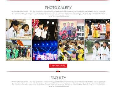 PP International School - School Website