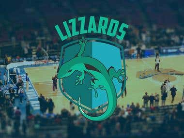 Lizzards Basketball Team