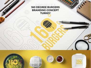 160 Degree Burgers Brand