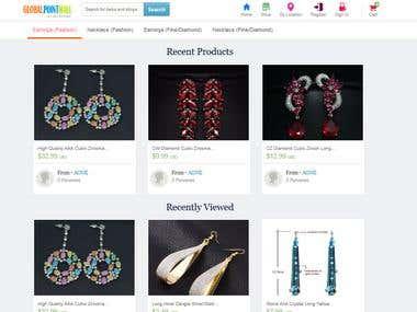 Ecommerce - www.globalpointmall.com