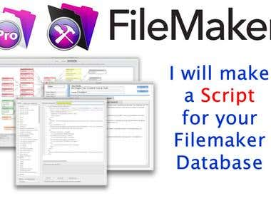 Scripts for your Filemaker database