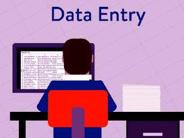 Online And Offline Data Entry Jobs