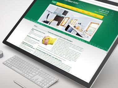 Cleaning Company Web-site