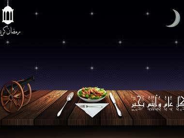 A facebook photo ad