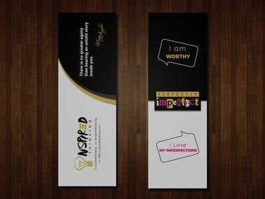nspiredthinking Bookmark design