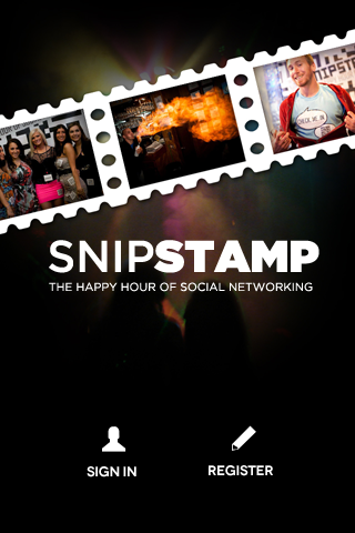 Android / iPhone App -- SnipStamp Social Media Mobile Applic