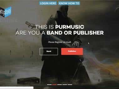 HTML5 Responsive Web