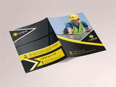 Brochure Design for Lumin Solar