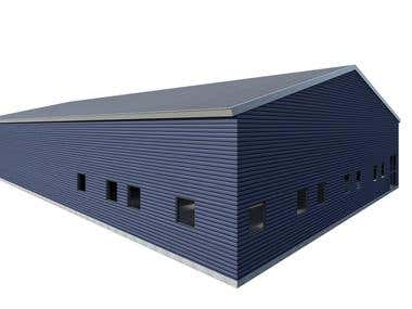 EXTERIOR BUILDING RENDER SIMPLE