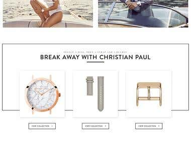 Christian Paul Woocommerce Website