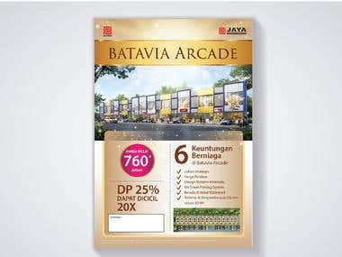 Flyer Design - Batavia Arcade (Property)