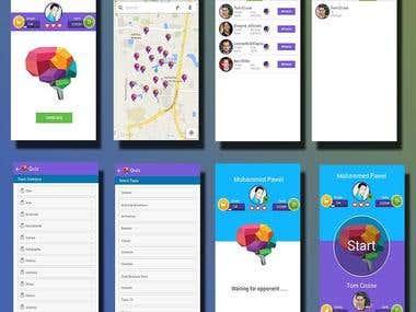 Android Quiz Wars App