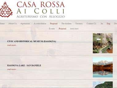 THE AGRITOURISM CASA ROSSA AI COLLI