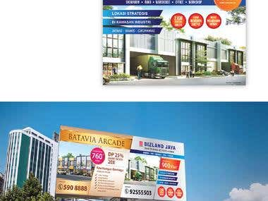 Billboard Design - Bizland Jaya (Property)