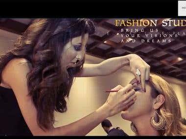 Fashion Website / Web development & design, Logo Design