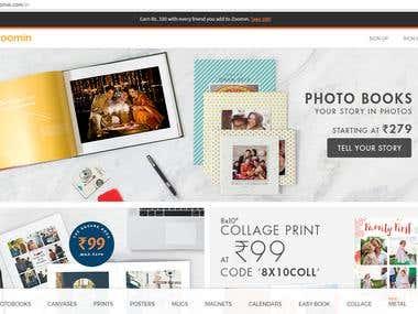 Photography / Website design & development