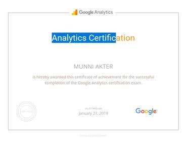 Analytics Certifications