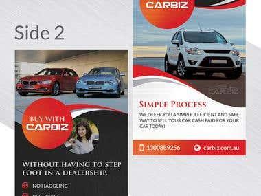 Carbiz Broshure design