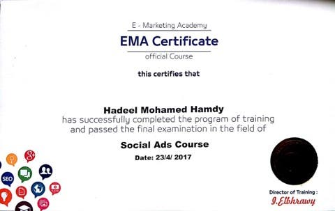 social media ads certification