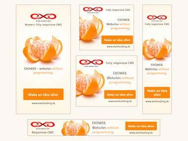 Static banners Exoweb CMS