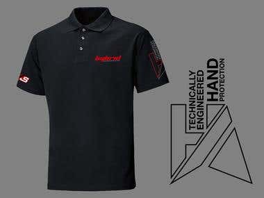 Polo and T shirt Design