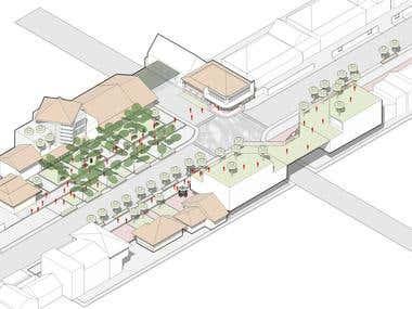 Urban Design/Architectural Illustration