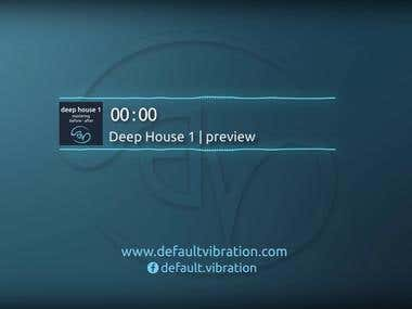Deep House 1 | before - after (MASTERING)