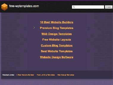 Advertise website