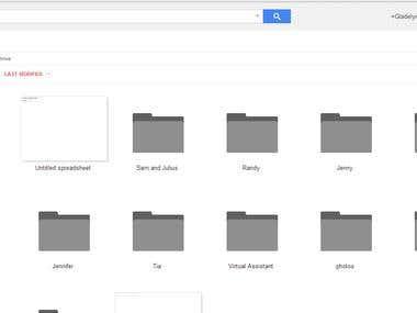 Google Drive Administration