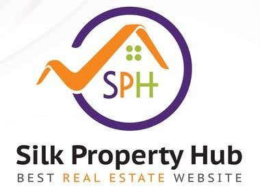 Silk Property hub Logo Design