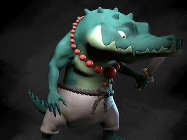 Crocodile crook