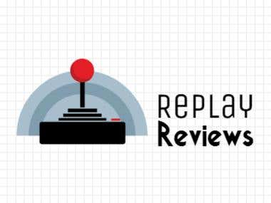 Replay Review Youtube Channel Logo