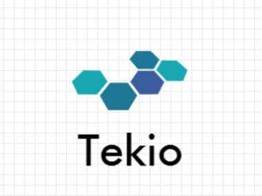 Tekio.com New Graphic Logo