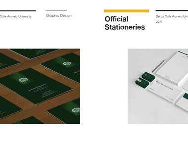 DLSAU Stationeries