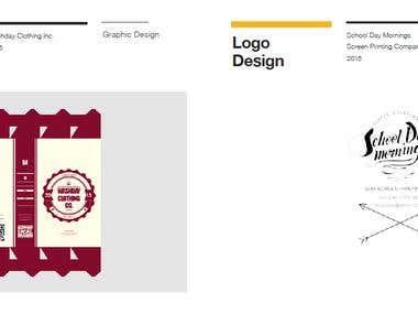 Packaging Design; Logo Design